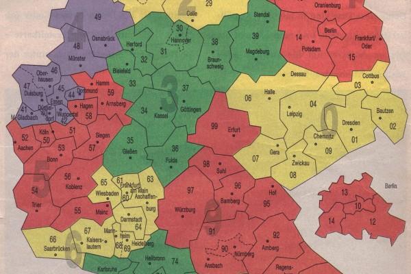 Kart over aktuelle spelestader i Tyskland